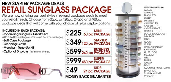 5fbf7aa305 We carry the latest sunglass styles with new fastions added weekly. Look to  us for Low Pricing